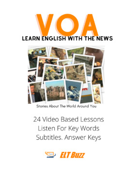 VOA Video Stories Worksheets + Key