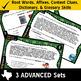 VOCAB BUNDLE ~ READING READY 4th Grade Task Cards – 6 Basi