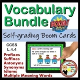 VOCABULARY Bundle BOOM Cards Digital ELAR