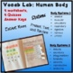 VOCAB LAB - Human Body Systems Functions & Components