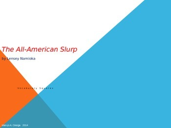 "VOCAB SQUARES: ""The All-American Slurp"""