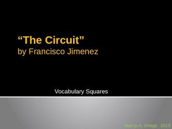 """VOCAB SQUARES: """"The Circuit"""""""