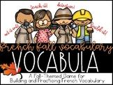 VOCABULA en français: French Vocabulary and Sight Word 'Cr