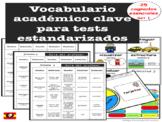 VOCABULARIO ACADEMICO CLAVE TIER 2 COGNATES TESTING (plans