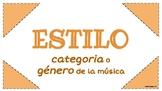 VOCABULARIO PARA AUDICIONES MUSICALES