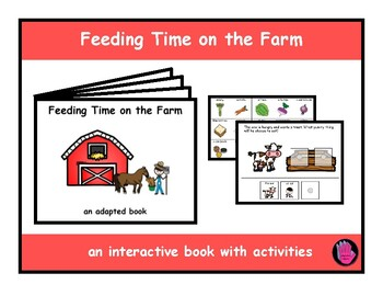 ADAPTED Fruit Book, Picture/Word Sort, Speech Therapy, Autism