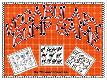 SPEECH THERAPY BUMP GAME for VOCABULARY