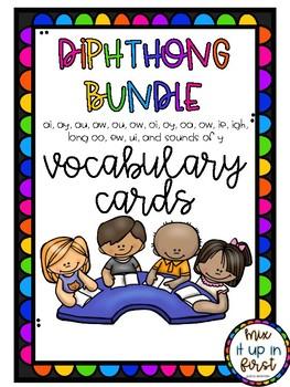 VOCABULARY CARDS-DIPHTHONGS BUNDLE
