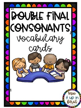 VOCABULARY CARDS-DOUBLE FINAL CONSONANTS (-SS, -ZZ, -CK, -LL, & -FF)