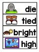 VOCABULARY CARDS-IE AND  IGH