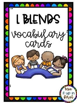 VOCABULARY CARDS-L BLENDS
