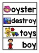 VOCABULARY CARDS-OI AND OY