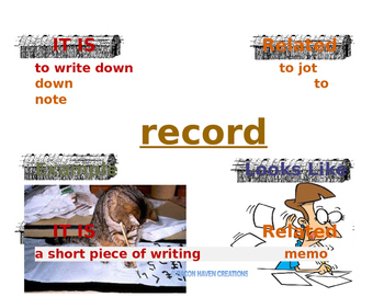 VOCABULARY FROM 4TH GRADE ELA MODULE 1A UNIT 2 LESSONS 2-3