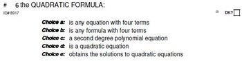 VOCABULARY Grades 9-11 Sampler (128 terms)