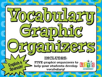 VOCABULARY Graphic Organizers - English and Spanish!