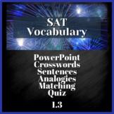 1 WEEK VOCABULARY UNIT - SAT Prep, AP English  (1.3)