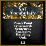 1 WEEK VOCABULARY UNIT - SAT Prep, AP English (1.5)