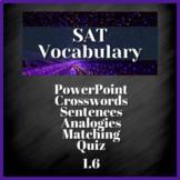 1 WEEK VOCABULARY UNIT - SAT Prep, AP English (1.6)