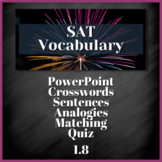 1 WEEK VOCABULARY UNIT - SAT Prep, AP English (1.8)