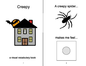 VOCABULARY PACKAGE Creepy & Pleasant ADAPTED BOOKS, Speech