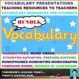 VOCABULARY PRESENTATIONS: BUNDLE