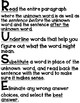 VOCABULARY STRATEGY FOR STAAR & Standardized Tests
