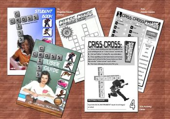 VOCABULARY (& Spelling): Criss-Cross Activity Pack