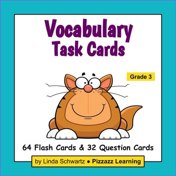 VOCABULARY TASK CARDS  • Grade 3 • Set #1