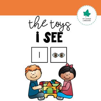 VOCABULARY: The TOYS I See