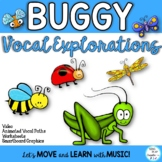 Buggy Vocal Explorations for Spring Music Class Lessons