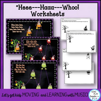 Vocal Explorations: Halloween/Monster Themed Song & Activities