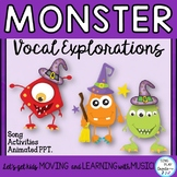 Halloween Vocal Explorations with Monsters