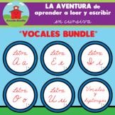 VOCALES BUNDLE!! -- La Aventura de aprender a leer y escri