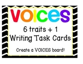 VOICES C.A.F.E Objective / Task Cards { 6 + 1 Writing Traits }