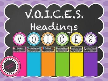 V.O.I.C.E.S. Headings