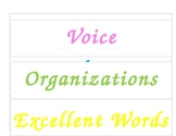 VOICES Stategy Headings