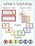 VOICES Writer's Workshop Packet Reading Strategies Goal Posters Covers Notes