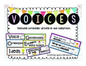 VOICES: Writing Strategy Cards
