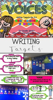 VOICES-Writing Targets for K-2