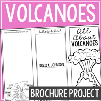 VOLCANOES: Earth Science Research Brochure Template Project