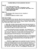 SBAC PREP  VOLCANOES: TEXT-BASED INFORMATIVE WRITING INTERMEDIATE