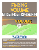 VOLUME | FREE Math Poster, Worksheet, Math Video & Song | 5th-6th Grade