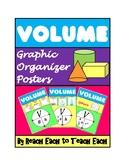 VOLUME - Graphic Organizer Posters