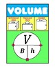 VOLUME - Graphic Organizer Posters