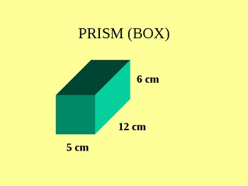 VOLUME OF RECTANGULAR PRISMS PPT.