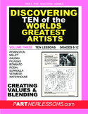 VOLUME THREE-MEET THE MASTERS SERIES-TEN GREAT ARTISTS