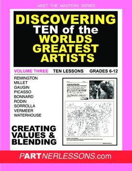 VOLUME THREE-MEET THE MASTERS SERIES-TEN GREAT ARTISTS