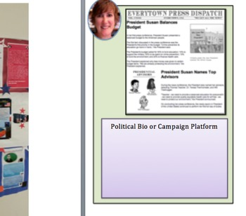 VOTE FOR ME CIVICS/GOVERNMENT ACTIVITIES: Grades 3-8