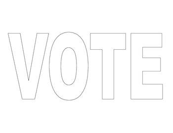 VOTE Word for VOTE Glyph
