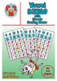 VOWEL BINGO - A great way to introduce the 5 English Vowel
